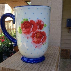 The Pioneer Woman tall floral mug